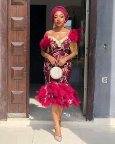 06af2159725f8 NEW PICTURES OF STYLISH AND CLASSY ASO EBI STYLES - Aso Ebi Styles - Aso ebi
