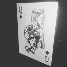 Sketching a deck.