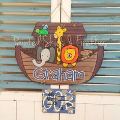 Hospital Birth Announcement Door Hanger / by paintedskyfirefly