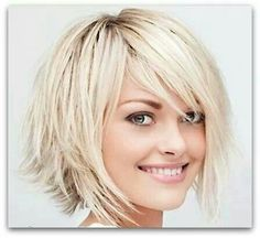 I don't like short hair for myself, but this short bob with long layers is really cute