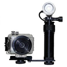 Intova Action Video Light System works great with GoPro and Intova cameras.