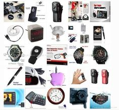 Hidden Spy Cameras - SEE THE WORLD'S BEST COVERT HIDDEN CAMERAS AT http://www.spygearco.com/spy-cameras-with-audio.php