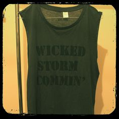 Wicked storm commin' Tee