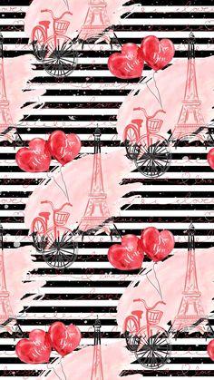 W..✿‿PHONE Paris Wallpaper, Love Wallpaper, Computer Wallpaper, Wallpaper Backgrounds, Iphone Wallpaper, Whatsapp Wallpaper, Paris Images, Beauty Art, Cute Stickers