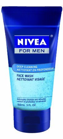 Nivea for Men Face Wash Cleans and Moisturizing with Menthol and Vitamin E, 5-Ounce Tubes (Pack of 4) | List Price:$24.20 | Sale:$23.99