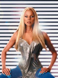 RuPaul, I'm sure you won't mind if I steal that outfit.