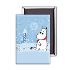 A cute Moomin fridge magnet perfect for Moomins lovers and fridge magnet collectors everywhere! Dimensions: H5.5 x W8 x D0.3cm