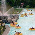 they let you take babies in your lap on the lazy river water ride at the Great Escape - summer vacation attraction in Upstate NY