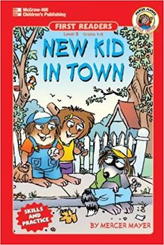 New Kid in Town, Grades 1 - 2 Mercer Mayer Books, Reading Adventure, Wiggles Birthday, World Of Books, Little Critter, Children's Picture Books, 4 Kids, Love Book, Book Worms