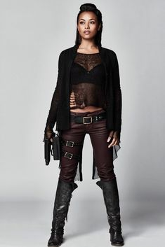 Melanie Liburd as Nyx Harper in Dark Matter