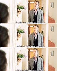 Austenland- JJ Feild   Thank you, Henry.  I think this sums up why I love historical fiction and period movies.  (But that doesn't mean that modern love can't be lasting...)