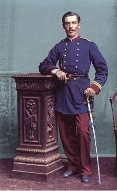 Teniente C. Campos del Batallon Civico Movilizado Melipilla
