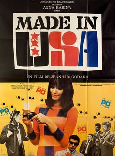 Made in U.S.A 1966 French Grande Poster