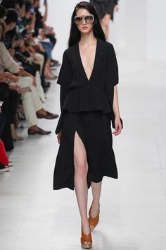 Chalayan Spring 2014 Ready-to-Wear Collection Slideshow on Style.com black #minimalist #fashion #style