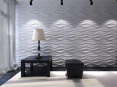 3D panelen LAKE, nieuwe vorm van wandafwerking