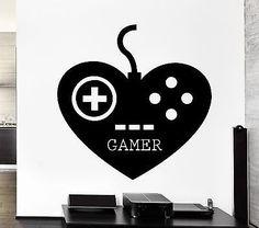 Gamer Wall Stickers Play Room Video Games Kids Room Teen Vinyl Decal (ig2498)