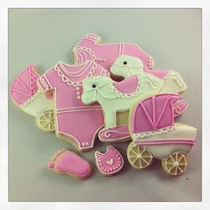 Welcome to the world baby girl! #sugarcookies #babyshower