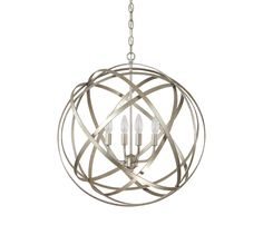 Four Light Pendant. -  dinning room or entry way