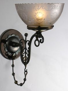 Victorian wall light rococo gaslight sconce recreation c 1850 874 victorian wall light rococo gaslight sconce recreation c 1850 874 1rs pb architectural lighting pinterest victorian wall lighting rococo and aloadofball Images