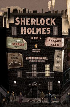 "Read ""Sherlock Holmes: The Novels (Penguin Classics Deluxe Edition)"" by Sir Arthur Conan Doyle available from Rakuten Kobo. All four legendary Sherlock Holmes novels, collected in a unique Graphic Deluxe Edition with an introduction by Michael . Sherlock Holmes Stories, Sherlock Bbc, Sherlock Poster, Sherlock Quotes, Sherlock Tattoo, Sherlock Comic, Funny Sherlock, Sherlock Season, Jim Moriarty"