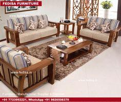 Wooden Sofa Set: two seater wooden sofa set, Buy Sofa Set Online Wooden Sofa Set Designs, Chair Design Wooden, Bedroom Furniture Design, Sofa Furniture, Wood Sofa, Teak Wood, Sofa Manufacturers, Sofa Set Online, Retro Sofa