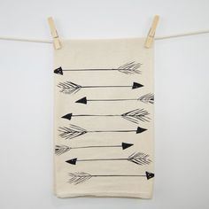 Hey, I found this really awesome Etsy listing at https://www.etsy.com/listing/98461585/arrows-printed-flour-sack-tea-towel