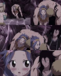GaLe ❤️ Also, for Levy to hold up Laxus, (like twice her size) she is pretty strong. :)