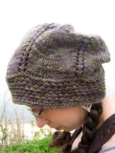 Garden Grove Slouch Hat, design by Erica Jackofsky for Fiddle Knits Designs 2011