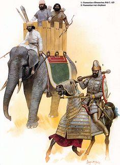 Sassanid Elephant Unit and Clibanarius
