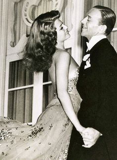 """Rita Hayworth & Fred Astaire """"You Were Never Lovelier"""" (1942)"""