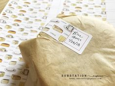 Cheese labels - Dairy Labels - Homemade Cheese - labels by Substation Paperie
