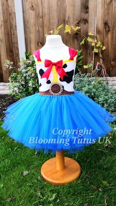 Disney Toy Story Woody Jessie Inspired Tutu by BloomingTutusUK