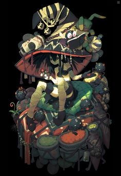 ArtStation - The witch of commerce, Alexis Rives