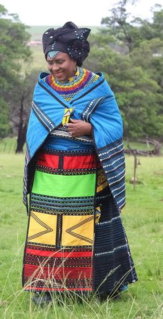 We have the latest modern Xhosa dresses online on Sunika. Discover Top Xhosa dresses designers in South Africa for your next outstanding Xhosa Wedding dress. South African Traditional Dresses, Traditional Fashion, Traditional Outfits, Traditional Wedding, Xhosa Attire, African Attire, African Wear, African Dresses For Women, African Fashion Dresses