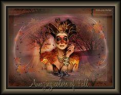 Amazing colors of Fall - Eng / Seizoen lessen | Linda-psp-design.jouwweb.nl