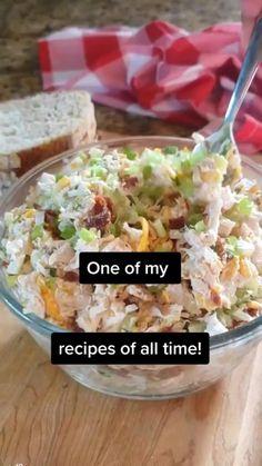 Low Carb Recipes, New Recipes, Cooking Recipes, Favorite Recipes, Healthy Recipes, Appetizer Recipes, Dinner Recipes, Appetizers, Chicken Salad Recipes