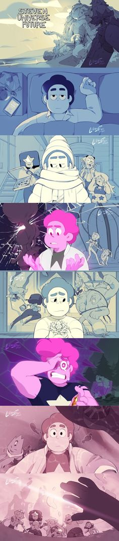 LillayFran❤🏳️‍🌈 on - Steven Universe Steven Universe Pictures, Steven Universe Drawing, Steven Universe Wallpaper, Steven Universe Funny, Universe Images, Universe Art, Cartoon Drawings, Cartoon Art, Cartoon Memes