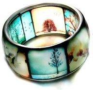 resin jewelry - Google Search