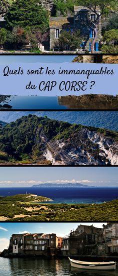 """Doigt pointé dans la Méditerranée, veillant entre France et Italie, le Cap Corse est un monde à part, une """"île dans l'île"""" comme se plaisent à le dire eux-mêmes ses habitants. Voici les plus beaux lieux à visiter idéalement en deux jours ou plus. #Corse #CapCorse #France #Top #Voyage #Vacances Cap Corse, Belle France, Cheap Travel, France Travel, Dire, Marina Bay Sands, Travel Destinations, Road Trip, Places To Visit"""