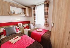 Swift Bordeaux Exclusive Twin Bedroom
