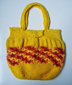 Art & Casa - Mari Rodrigues: Bolsa de Crochê - Desafio