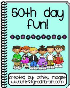 50th day of school unit!!