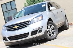 2015 Chevrolet Traverse LT w/1LT branded title includes: third row, heated power drivers seat, wood interior trim, leather-wrapped steering wheel, rear park assist, keyless entry, a rearview backup camera, Bluetooth phone connectivity, AM/FM/CD/satellite audio with a 6.5-inch touch-screen display and front and rear USB ports. Prestman Auto is a family owned and operated dealership that has been in business since 1989. How many others can say the same? We have been the leader in top quality…