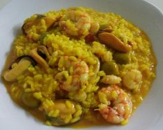 Paella, Risotto, Robot, Club, Ethnic Recipes, Ethnic Food, Cooking Recipes, Mussels, Robots