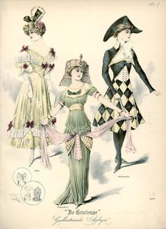 1910s fancy dress: 