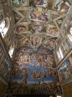 Rome, Italy. The Sistine Chapel. Ohhh how I would love to go back and visit. Amazing!