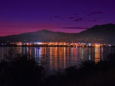 A colorful evening in Wenatchee,WA.