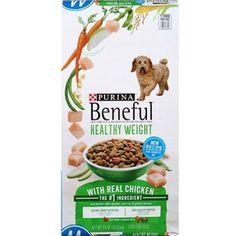 Beneful Healthy Weight Adult Dog Food (44 lbs.) (pack of 6) ~~ You can learn more by visiting the image link. (This is an affiliate link and I receive a commission for the sales)