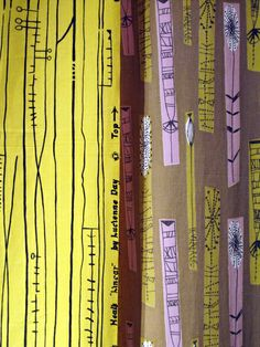 Lucienne Day Linear fabric | Flickr - Photo Sharing!