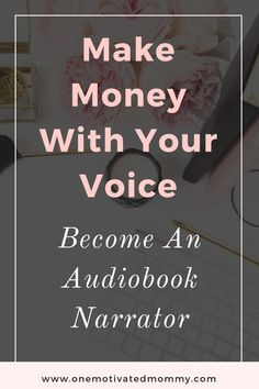 Have you ever thought about becoming a freelance audiobook narrator? It is definitely a unique and rewarding career that you can do from the comfort of your home. Work From Home Jobs, Make Money From Home, Way To Make Money, Make Money Online, How To Make, Home Based Business, Online Business, Your Voice, Online Work